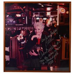 Large Autographed Photo of Governor Ann Richards