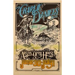 Charlie Daniels Band, Austin Opry House Poster