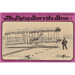 AWHQ The Flying Burrito Bros. Poster