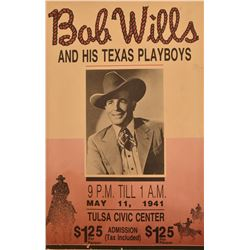 Bob Wills and The Texas Playboys Poster