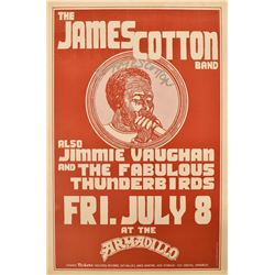 AWHQ The James Cotton Band Concert Poster