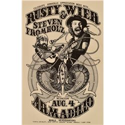 AWHQ Rusty Wier & Steven Fromholz Poster