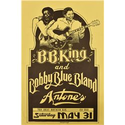 B.B. King and Bobby Blue Bland, Antone's Poster