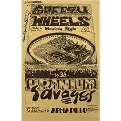 AWHQ Greezy Wheels with Uranium Savages Poster