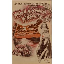 AWHQ Balcones Fault and Chastity Fox Poster