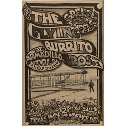 AWHQ Flying Burrito Bros. Greezy Wheels Poster