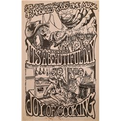 Armadillo World Headquarters Joy of Cooking Poster