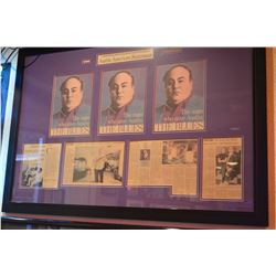 Clifford Antone Framed Article
