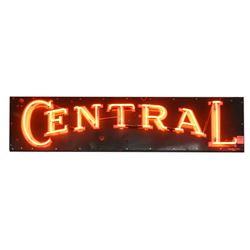 Central Neon Sign