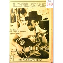 Lone Star Beer Advertising with Ray Benson
