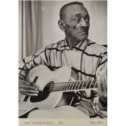 Mance Lipscomb Burton Wilson Photo 1967