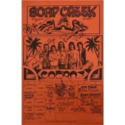 The Cobras Soap Creek Saloon Poster