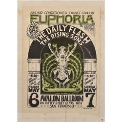 Big Brother And The Holding Co Janis Joplin Poster