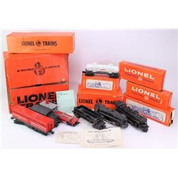 Collection of misc. Lionel train cars, engines,