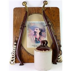 Collection of 3 includes Buffalo Bill Cody print