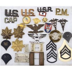Collection of misc. military pins