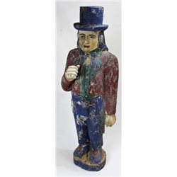 Contemporary wood carved Uncle Sam