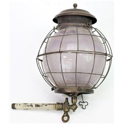 Scarce Colt gas wall lamp