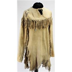 Sioux fringed leather shirt having belonged