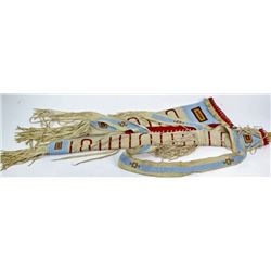 Contemporary Northern Plains beaded, quilled and
