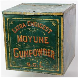 Early general store counter top tin