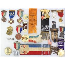 Collection 19 of misc. ribbon badges
