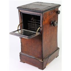 Victorian table top stereoview cabinet