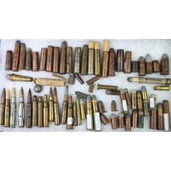 Misc collection of antique and obsolete ammo