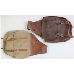 Collection of 2 pair saddle bags