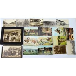 Collection of 16 vintage postcards