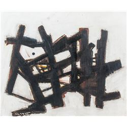 American Abstract OOC Signed Franz Kline