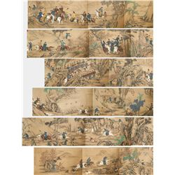 Jin Tingbiao Qing Dynasty Chinese WC Scroll