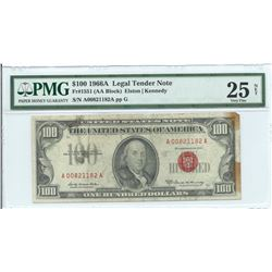 1966A $100 Legal Tender Note PMG Very Fine 25 Net