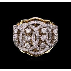 1.41 ctw Diamond Ring - 14KT Two-Tone Gold