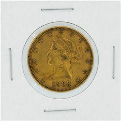 1903-S $10 XF Liberty Head Eagle Gold Coin
