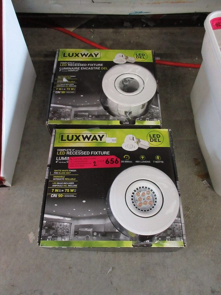 wholesale dealer b79ac 70f1b Luxway Led Recessed Light Fixture