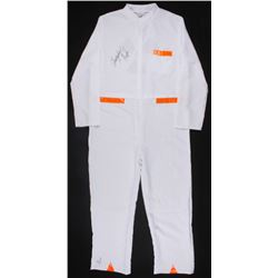 "Christopher Lloyd Signed ""Back to the Future"" White Lab Suit Costume (JSA LOA"