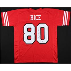 Jerry Rice Signed 49ers Jersey (Rice Hologram)