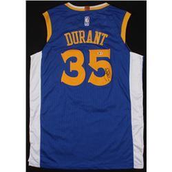 Kevin Durant Signed Warriors Nike Jersey (Beckett COA)