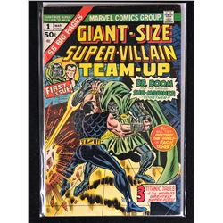 GIANT SIZE MARVEL TEAM UP SUPER VILLAINS NO.1 COMIC BOOK