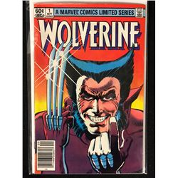 A MARVEL COMIC LIMITED SERIES WOLVERINE NO.1 ( MINT)
