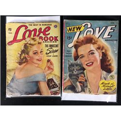 THE BEST IN ROMANCE COMIC LOT ( LOVE BOOK / NEW LOVE)