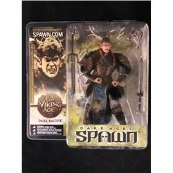 NEW IN BOX TODD MCFARLANE DARK AGES OF SPAWN MODEL DARK RAIDER