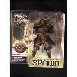 NEW IN BOX TODD MCFARLANE DARK AGES OF SPAWN MODEL BERSERKER
