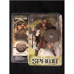 NEW IN BOX TODD MCFARLANE DARK AGES OF SPAWN MODEL BLUETOOTH