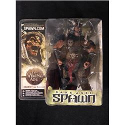 NEW IN BOX TODD MCFARLANE DARK AGES OF SPAWN MODEL SPAWN