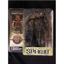 NEW IN BOX TODD MCFARLANE DARK AGES OF SPAWN MODEL SKULL SPLITTER