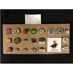 LOT OF B.C AND CANADA PINS