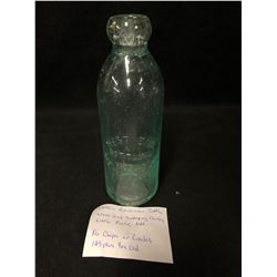 1890 HUTCHINSON BOTTLE ( NO CRACKS OR SCRATCHES)