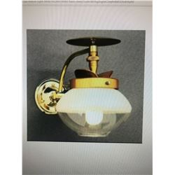 LOT OF 2 FALKS PROPANE COTTAGE GAS LAMPS ( BRAND NEW)
